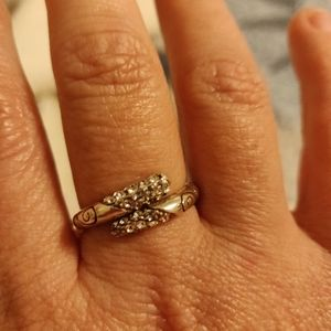 Brighton Silver Adjustable Size Ring